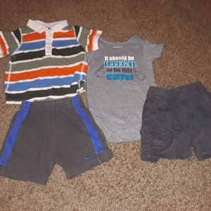 4 Piece Boy's 12 Months Clothing Lot